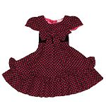 Adorable sweetie pie polk-a-dot dress