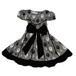 Little miss sweetness polka dot dress.
